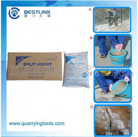 Static Fragmentation powder,Static Fragmentation powder for granite quarry,Static Fragmentation powder for rock demolition