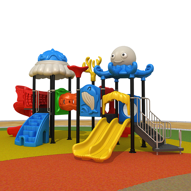 Low price large playground slide, outdoor playground equipment for kids.