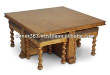Japanese style low dining table