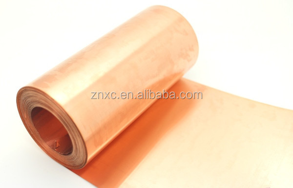 0.1-5mm 99.99% high pure thin copper foil with factory price