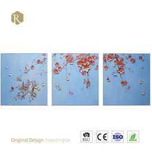Beautiful flower art modern art oil painting pictures of flowers wall decorations