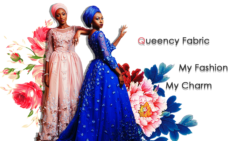 Queency African Elegant  Design Embroidery Cotton Chemical Lace Guipure Fabric Wholesale