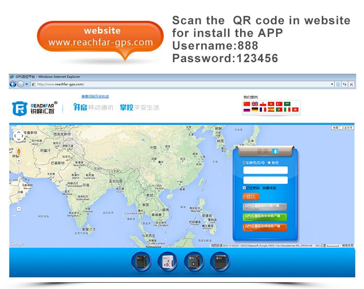 Rf-v18 gsm gprs mobile phone call location tracker and sos communicator