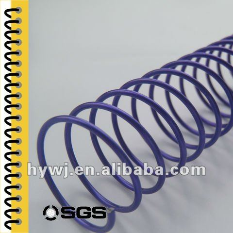 metal spiral wire binder for a4 paper/notebook/hole