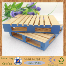 real rubber wood mini cargo pallet