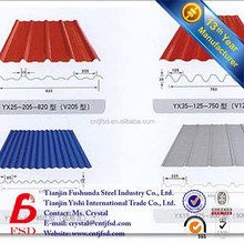 22 gauge stone coated galvanized corrugated steel roofing sheet