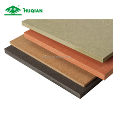 Marine moisture resistant and fire retardant mdf board