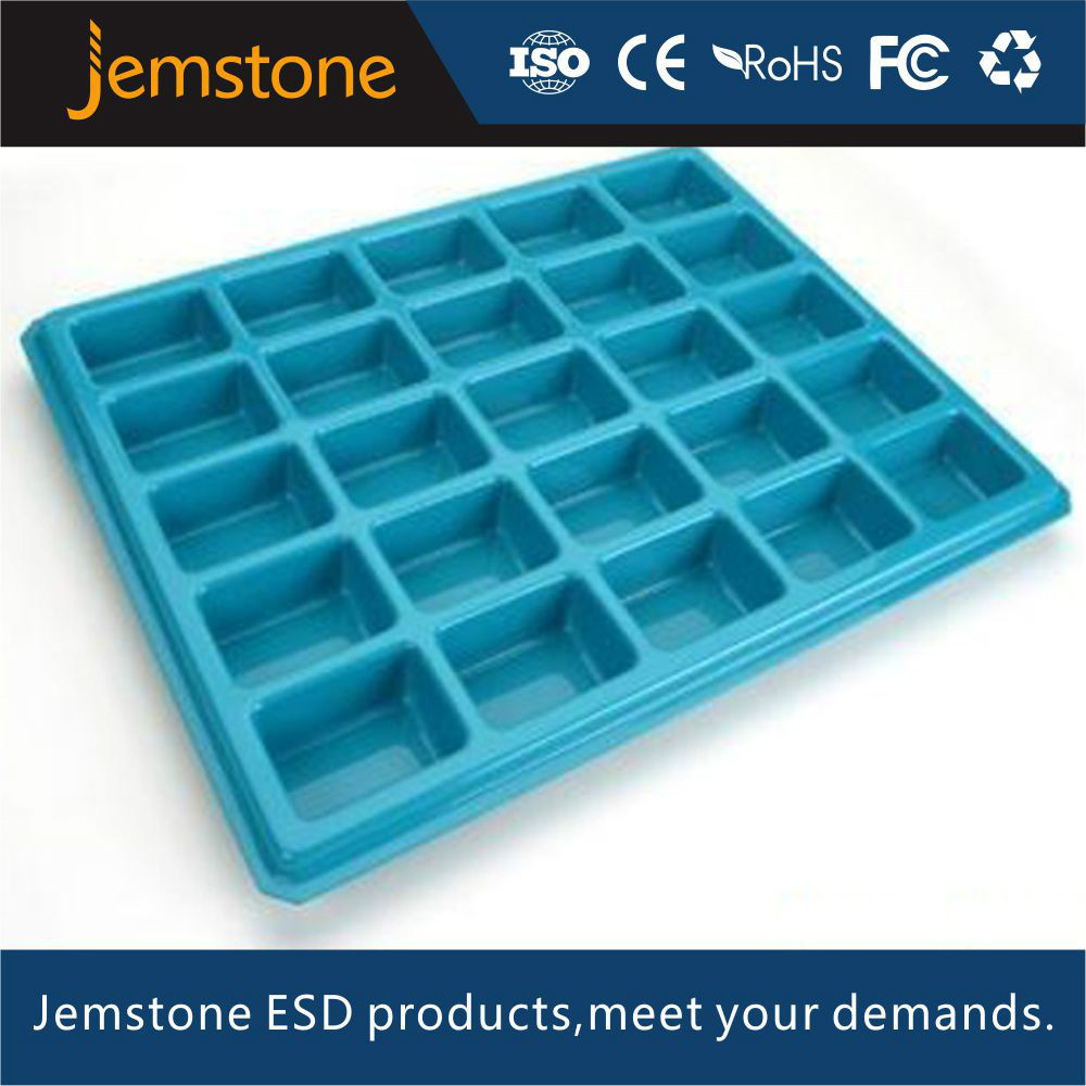 customized plastic trays for electonic product