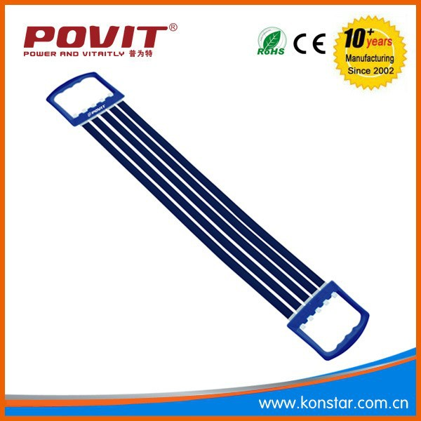 BUILD UP MUSCLES ,POVIT SPORT 5 LATEX 10 MM SPRINGS CHEST PULL EXPANDER FITNESS