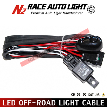 led off road light cable Wiring Harness_350x350 led off road light cable wiring harness switch led light bar  at bayanpartner.co