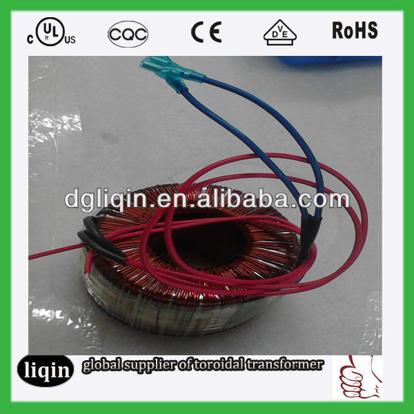 50 60hz toroidal power transformer universally used into household