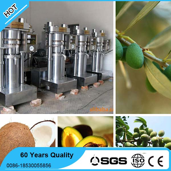 2016 New Hydraulic cold press machine to make olive oil