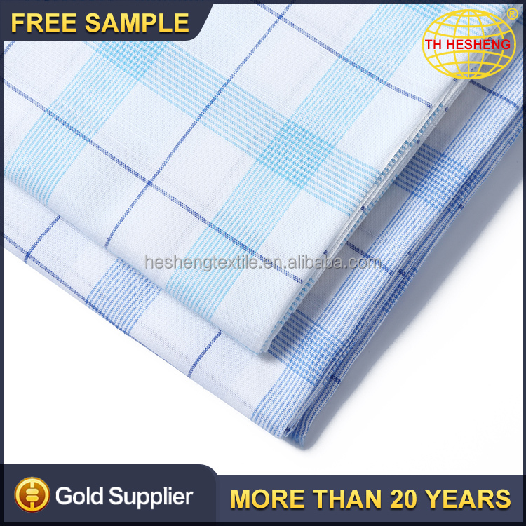 Hot sale fashion shirt cotton woven textile fabrics price new model wholesale cotton rayon fabric