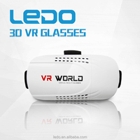 2016 New products 3D VR BOX VR world Virtual Reality 3D Glasses for blue film video open sex