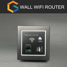 Wall wifi router Convenient Function with power/WPS/RST Button Wireless Hotel Inwall Ap/Wifi In Wall Access Point AP Router