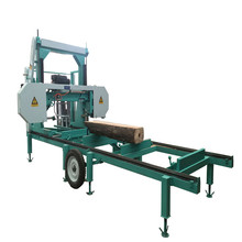 Portable Horizontal Band Saw Mill For Wood Cutting