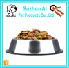 All Size Stainless Steel No tip No Slip Stainless Steel Pet Bowl
