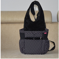 Fashionable Pet Dog Folding Bag Dog Cat Portable Carrier Travel Tote Bag Cage