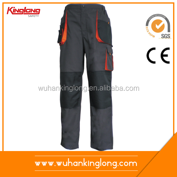 Safety industry navy cargo work pants