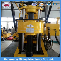 High Quality 0~300m depth water borehole core drilling machine price