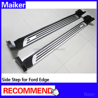 Exterior Accessories Side step bar For Ford Edge running board auto parts 4*4 accessoires from maiker