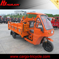 China motorcycle tricycle factory/cargo tricycle with cabin HJ200ZH-C
