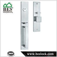 Modern style North America outdoor gate lock,wrought iron gate lock