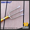 World Famous China Manufacturer 3 tine Fish fork 8mm Screw Nut fish barbed stainless spear