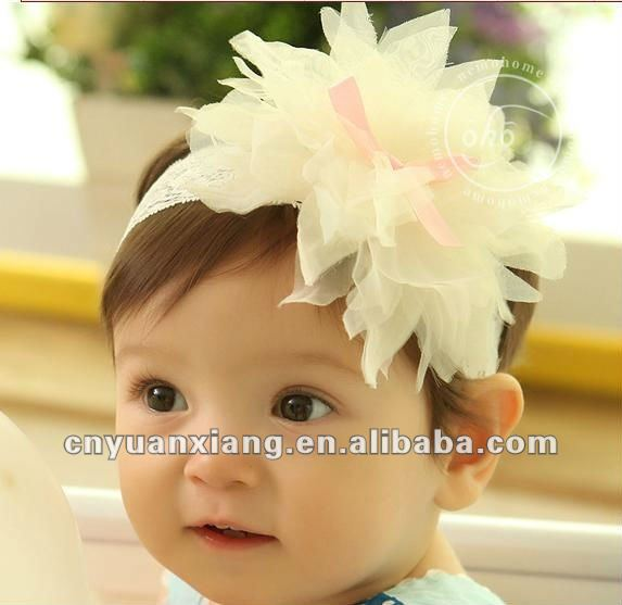 2012 Alibaba express hot product Fashion baby crochet lace flowers headbands(SU0031)