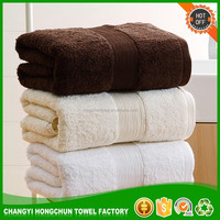 High quality Classic Fancy Border 100% Cotton Towels Bath