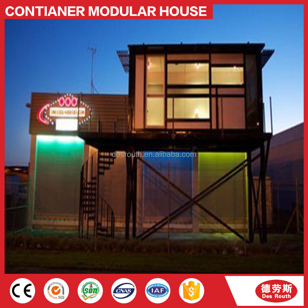 Modular prefab home kit price,low cost easy assembly modular prefabricated 20ft container house
