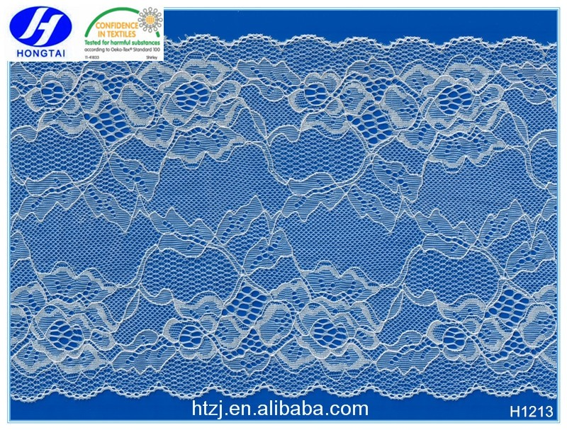 hongtai Professional Manufacturer Elegant Soft Lace Trim For Underwear