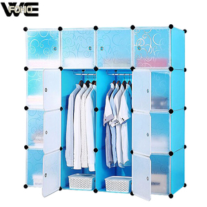16 cubes depth double color wardrobe design furniture bedroom, drawing room wardrobes With a little Daisy, kids plastic wardrobe