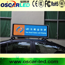City advertiser HD Taxi roof top ad/taxi roof advertising screen,indoor advertising screen,3G led taxi roof advertising signs