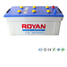 Dry Charged Battery 12V 200Ah 100% Tested Heavy Duty Truck Battery 1 Year Warranty Dry Car Battery High Performance