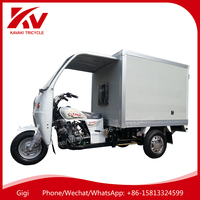 Made in China Guangzhou air-cooled/water-cooled 200cc/250cc closed cabin motor cargo/passenger tricycle for sale