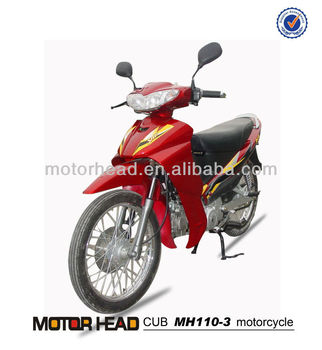 New 110cc cub motorcycle, China super pocket bikes for sale