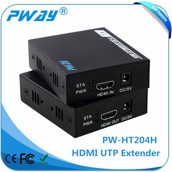 Powerful 1080p extender 72 * 69 * 25mm ethernet extender