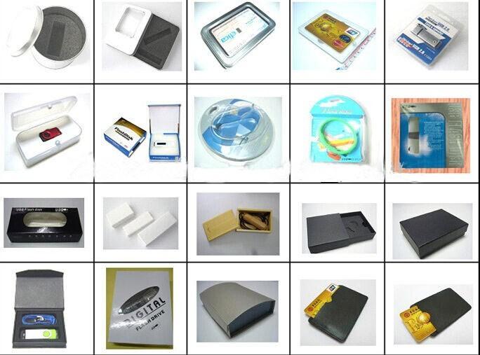 Custom usb flash drive packing