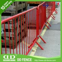 road crow fence crossed foot galvanized crow control steel crowd control barrier