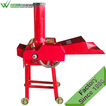 Alibaba supplier factory direct maize cutter cutting vegetables radish chaff cutter machine factory feed animal 0.4-1.2t/h farm