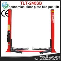 Portable and easy for operation Launch TLT240SB hydraulic 2 post automobile lift price for car 220v