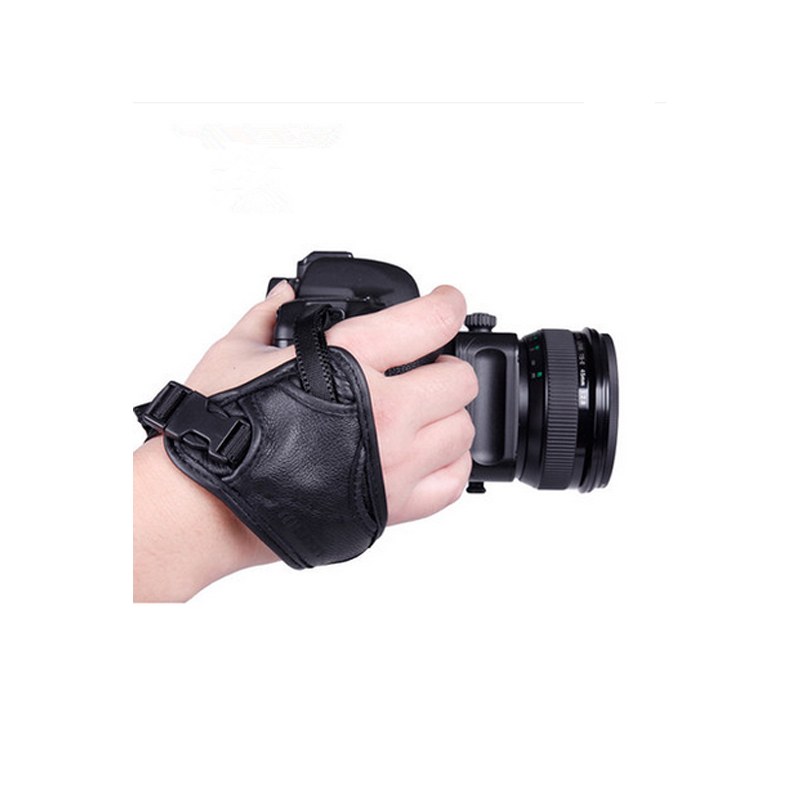2016 combine practicality with simple leather wrist camera strap