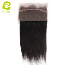 Wholesale alibaba brazilian human hair straight wave 360 lace frontal