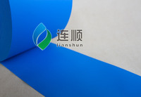 Hot Sky Blue Film Conveyor Belt PU Film PU Sticker For Conveyor Belt