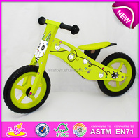 2015 New wooden bicycle toy for kids,cute wooden bike toy for children,latest design wooden toy bicycle for baby W16C078