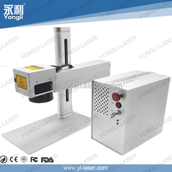 High Power Laser Marking System For Family And Factory Superior Effect On Metal And Plastic