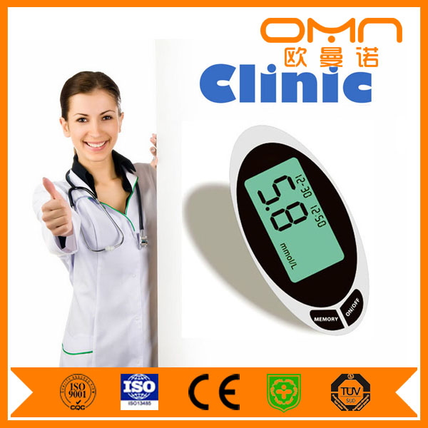 Bluetooth Blood Glucose/Sugar Meter with Accu Chek Test Strips Cheap Price Cholesterol Analysis Tester for OEM