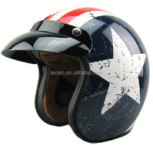 hot sale fashionable half- face motorbike helmets open face helmet