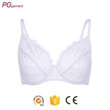 Transparent plus size stretchier lace side big cup sexy image girl bra hot girl sexy push up bra